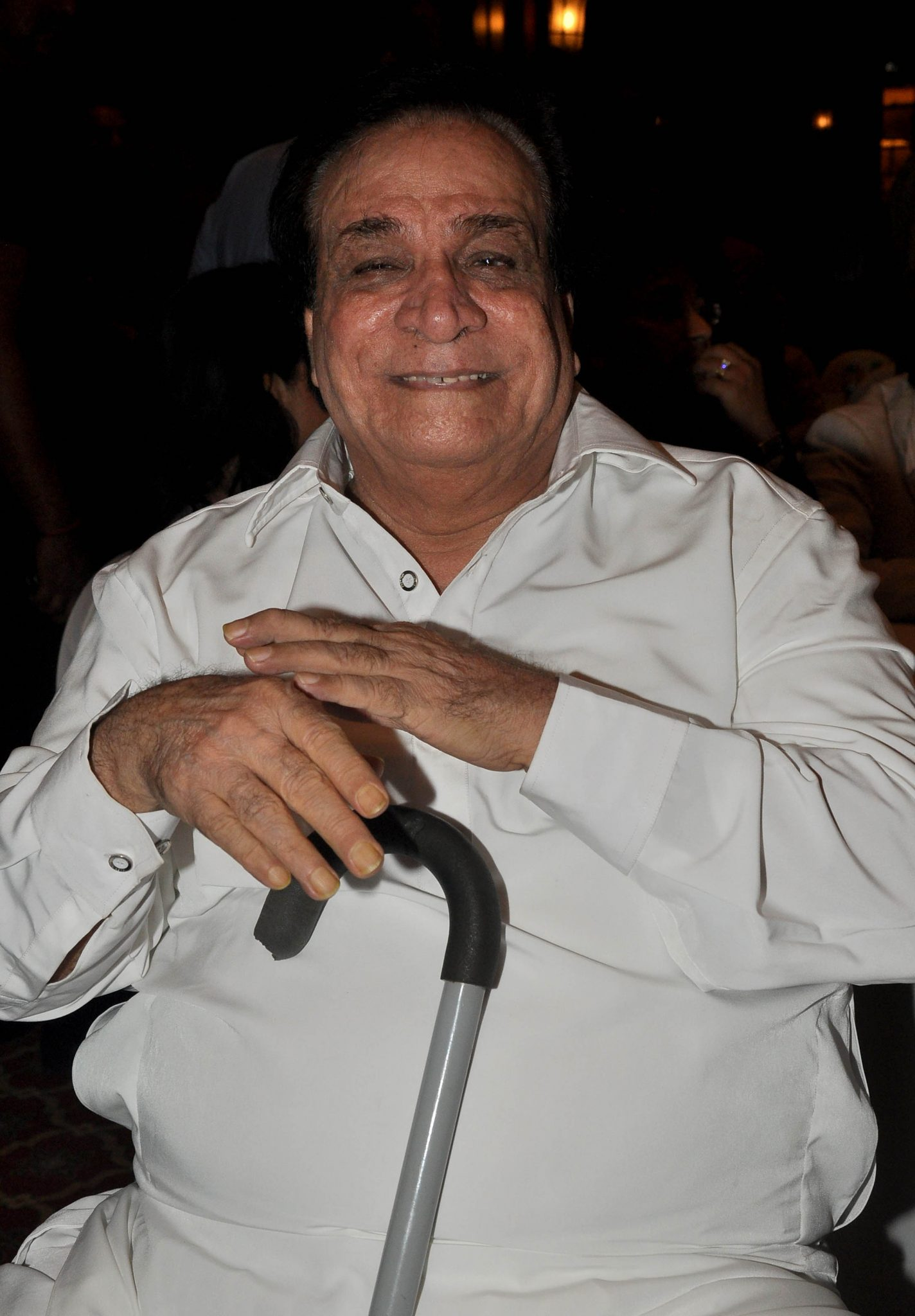 Indian Bollywood actor and dialogue writer Kader Khan (Photo: STRDEL/AFP/Getty Images)