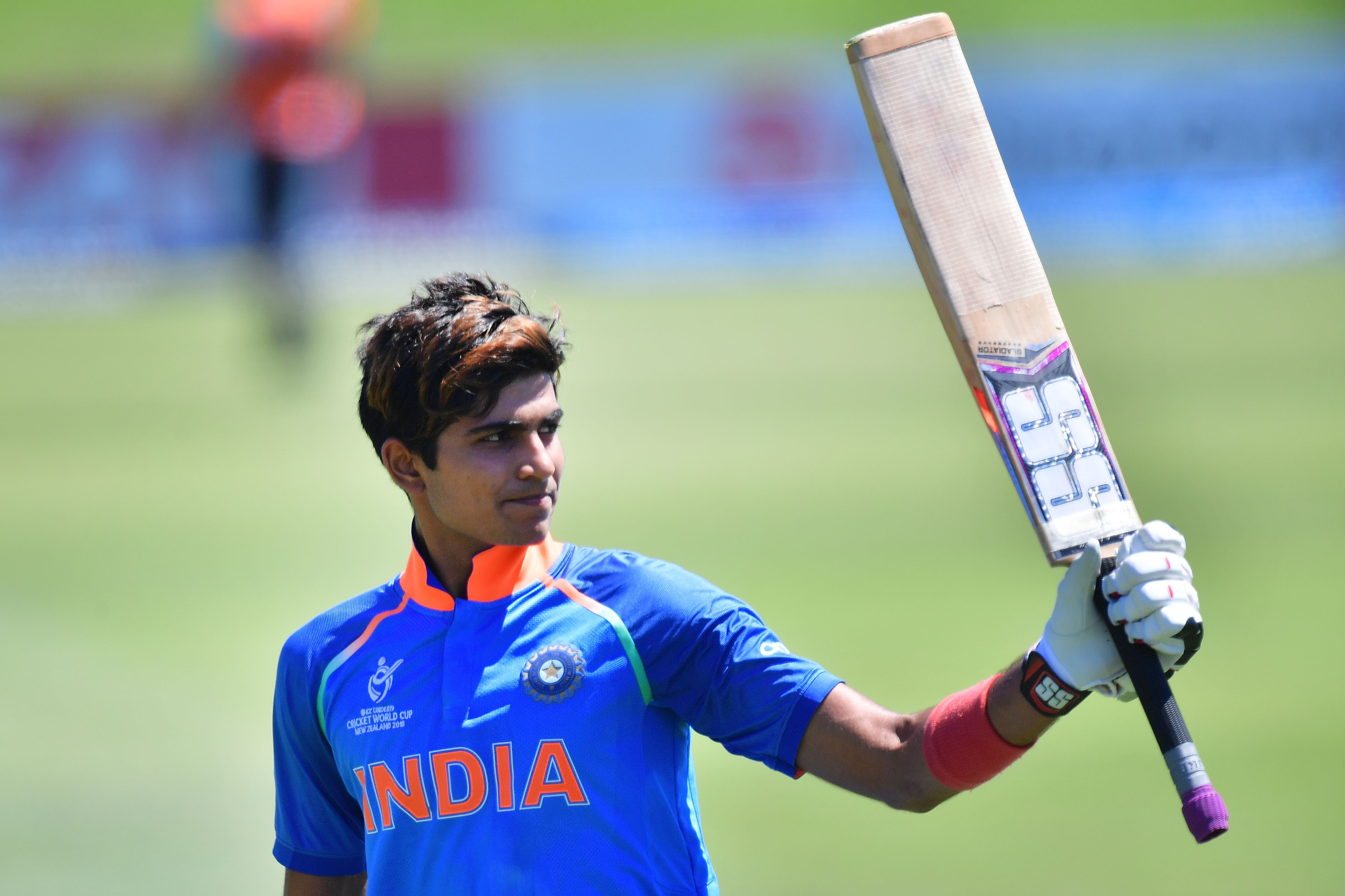 Shubman Gill (MARTY MELVILLE/AFP/Getty Images)