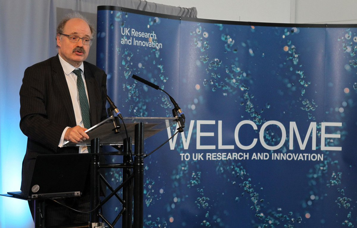 Mark Walport and Dr Tim Wheeler, Director International UK Research and Innovation, will also visit three Newton-Bhabha projects, which highlight the UK and India's research collaborations (Photo:@UKRI_CEO/Twitter).