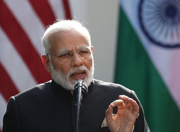 India prime minister Narendra Modi (Photo: Mark Wilson/Getty Images).