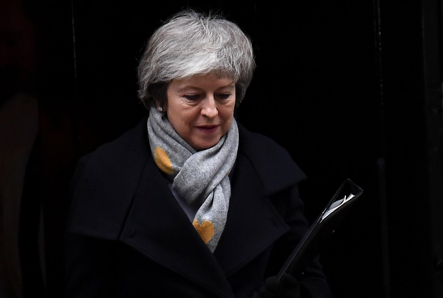 Britain's prime minister Theresa May (Photo: REUTERS/Clodagh Kilcoyne)