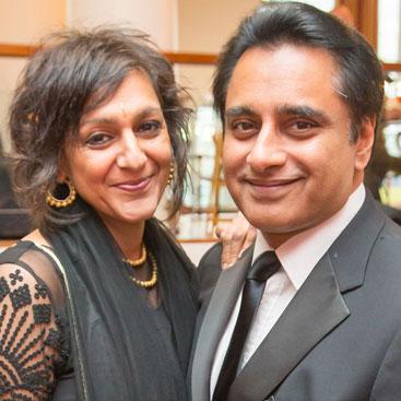 Meera Syal & Sanjeev Bhaskar