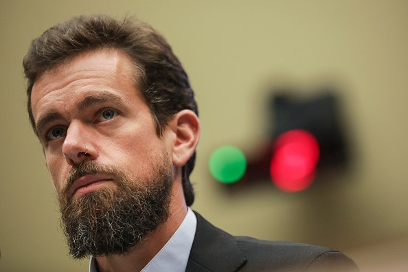 Twitter chief executive officer Jack Dorsey. (Photo by Drew Angerer/Getty Images)