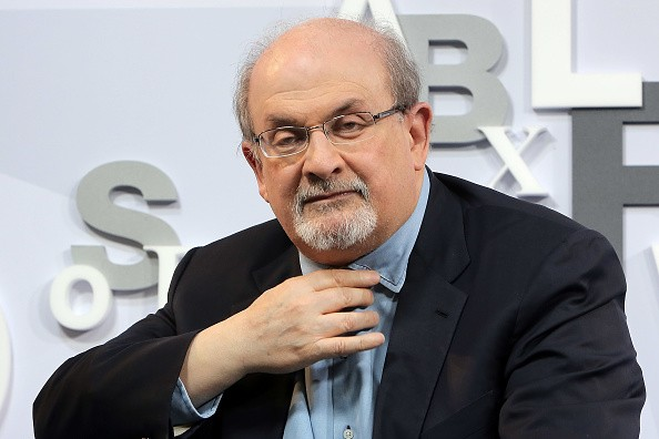 Salman Rushdie  (Photo by Hannelore Foerster/Getty Images)