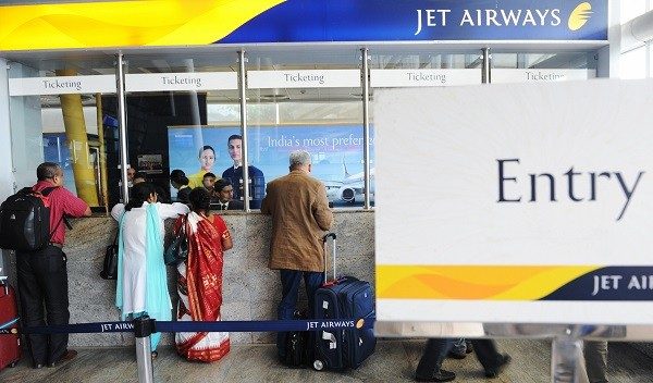 In a regulatory filing, Jet said yesterday that 98 per cent of its shareholders voted to increase the share capital to Rs 22bn from Rs 2bn at a special meeting (Photo: INDRANIL MUKHERJEE/AFP/Getty Images).
