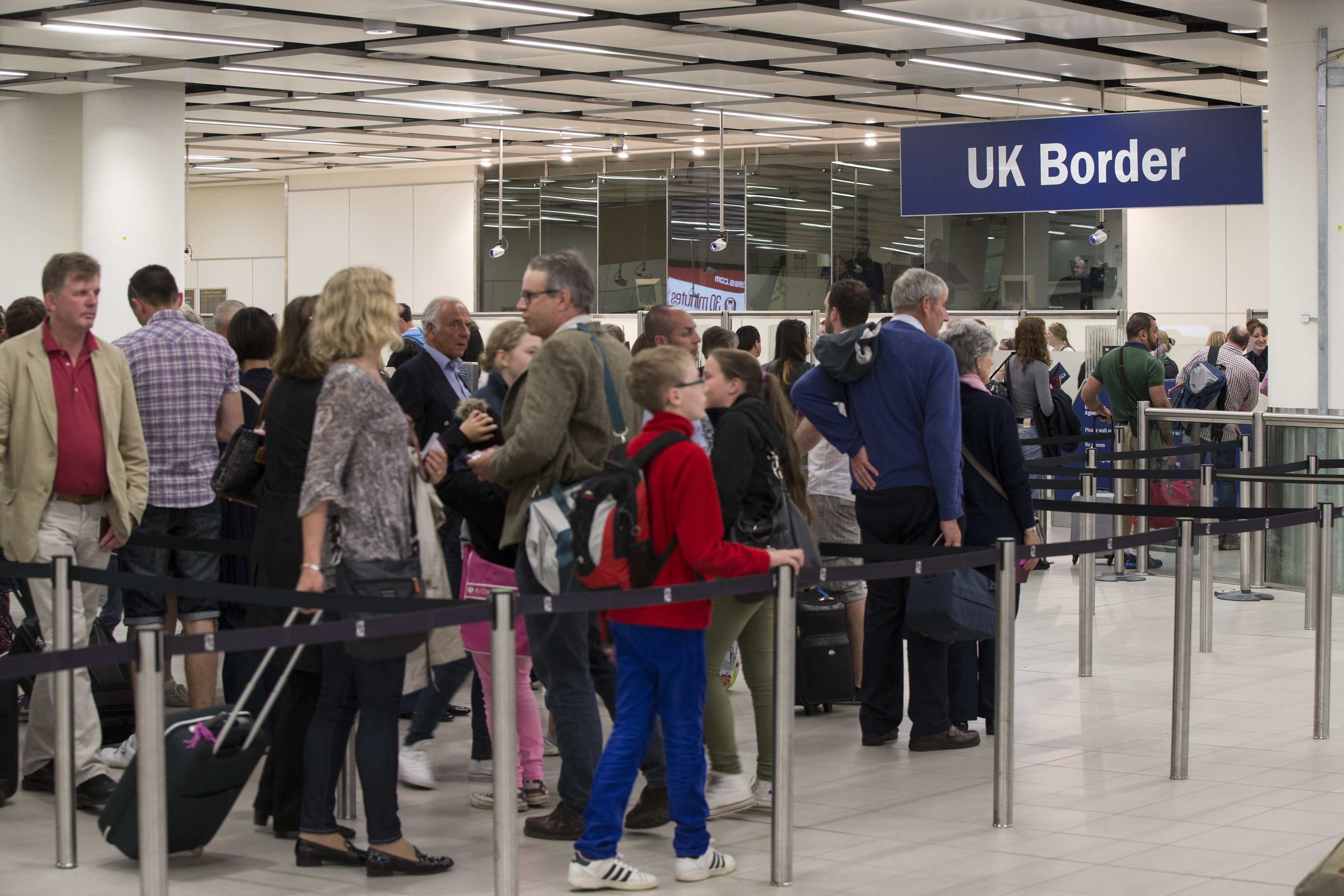 CLOSING THE DOOR: Entrepreneurs have criticised the government's post-Brexit immigration proposals