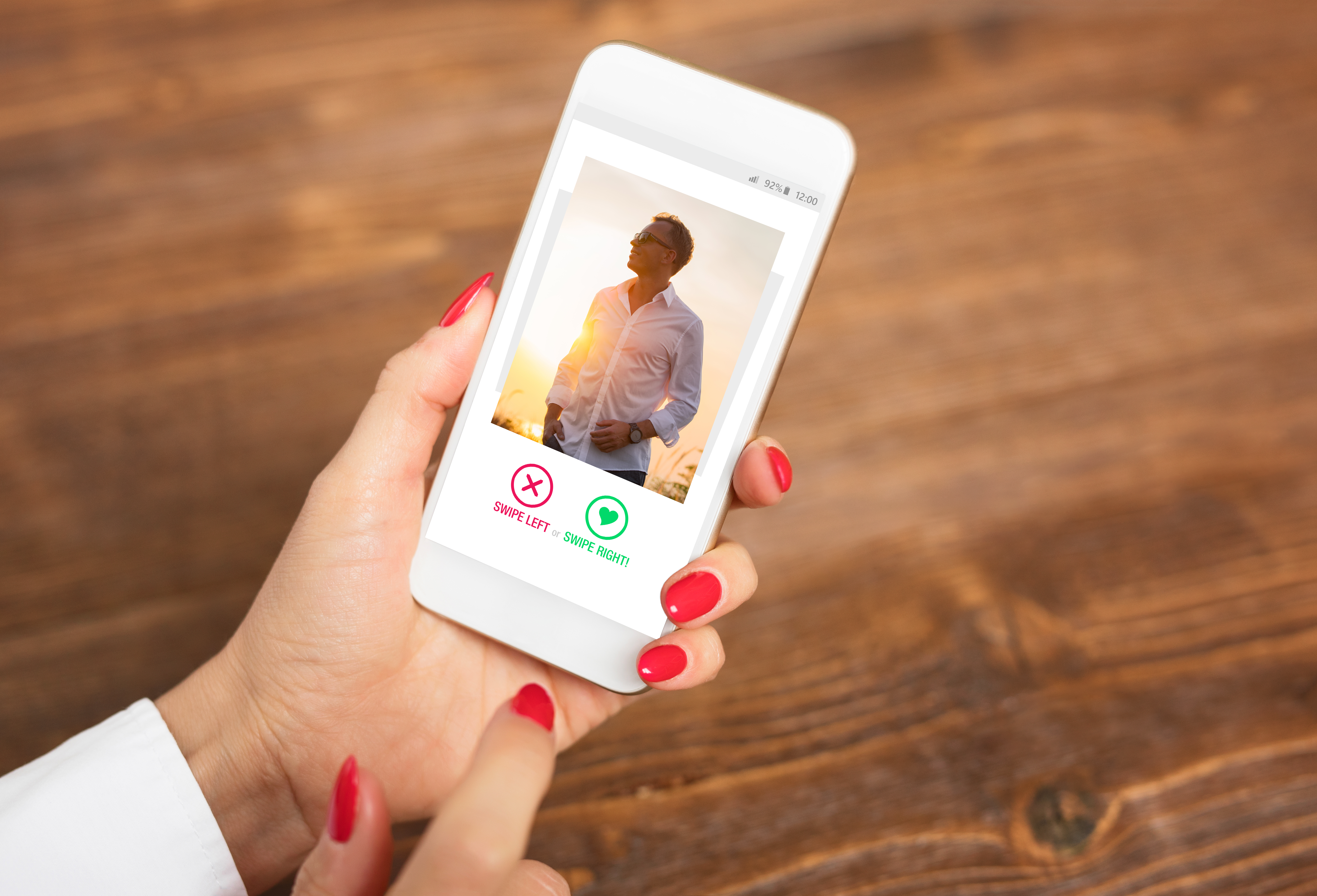 HAVE A HEART: Users of dating apps such as Tinder have been targeted by fraudsters