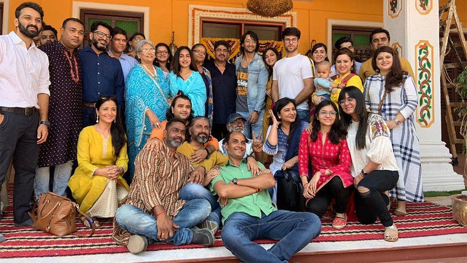 A still from the sets of Yeh Rishety Hain Pyaar Ke