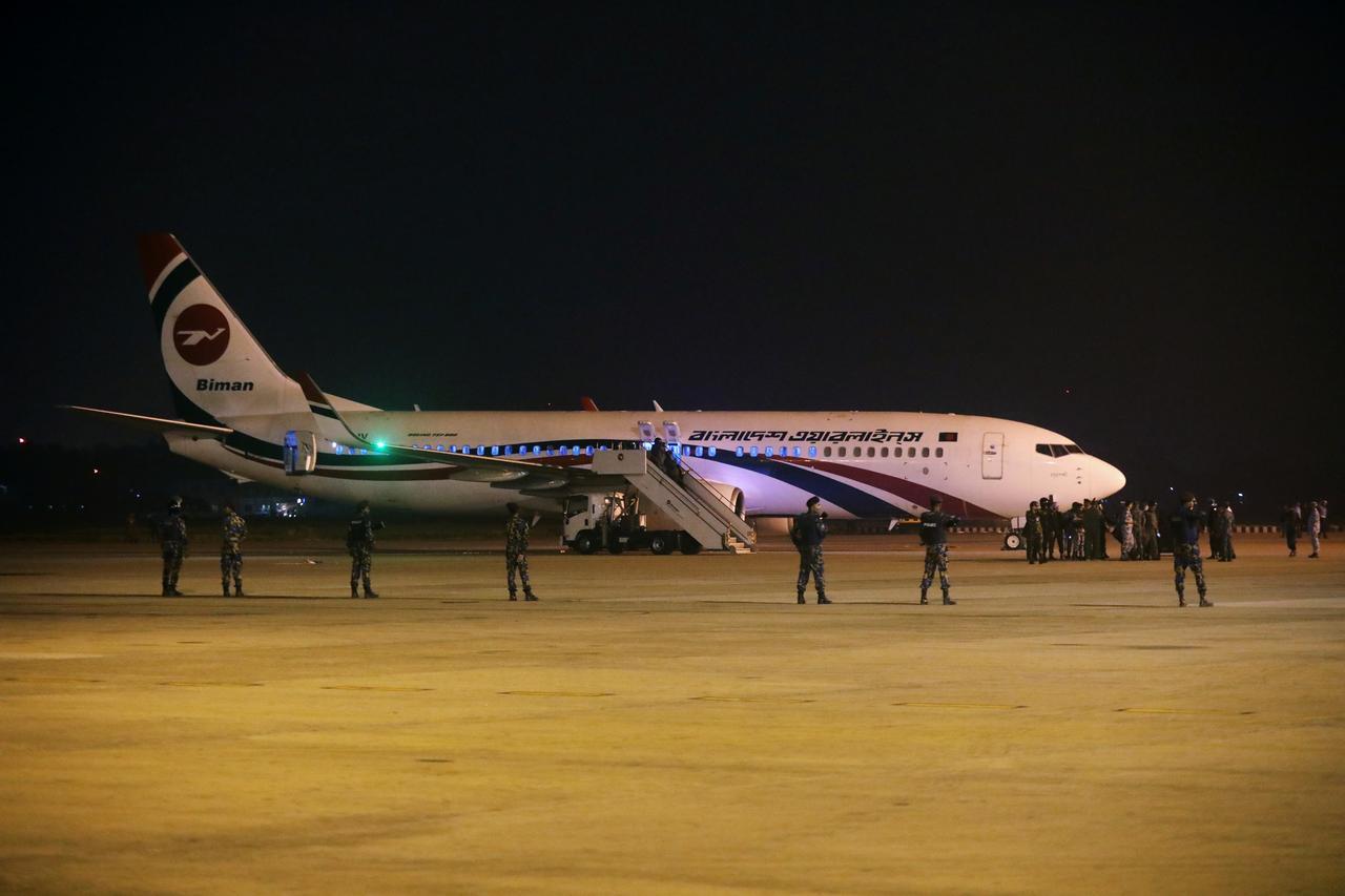 Bangladesh Biman airline was headed to Dubai