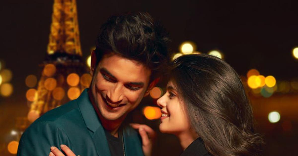 Sushant Singh Rajput & Sanjana Sanghi