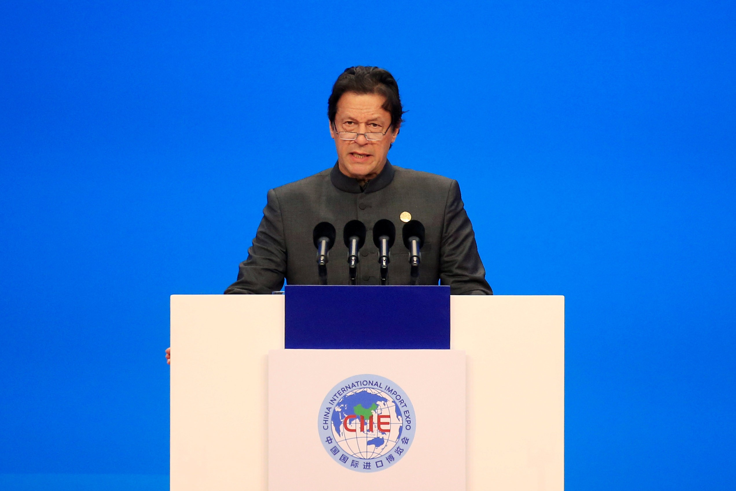 Pakistani prime minister Imran Khan   (Photo: Reuters/Aly Song)