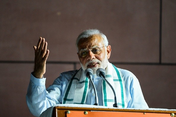 Indian prime minister Narendra Modi (Photo: CHANDAN KHANNA/AFP/Getty Images)