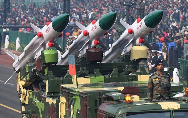 Still, India was the world's second largest importer of major arms in 2014-18 and accounted for 9.5 per cent of the global total (Photo: PRAKASH SINGH/AFP/Getty Images).