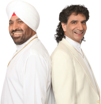 KS Bhamrah and Sardara Gill