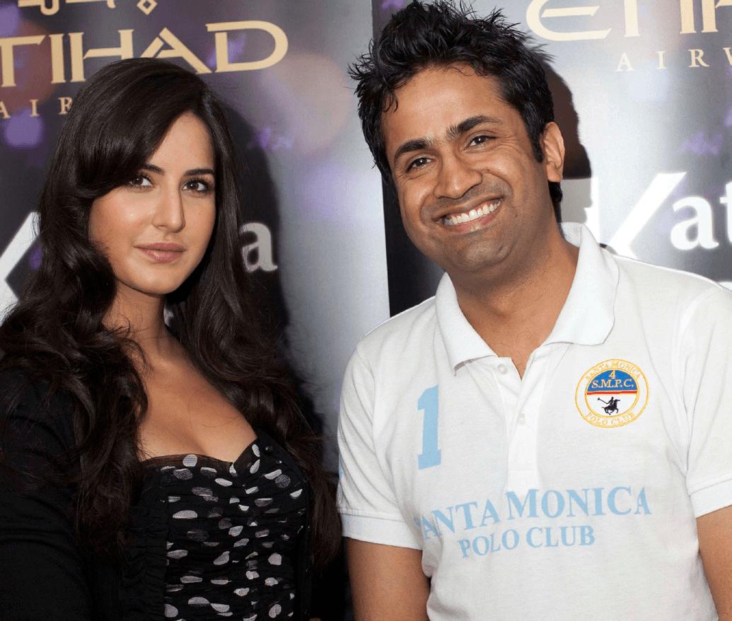 Katrina Kaif and Asjad Nazir