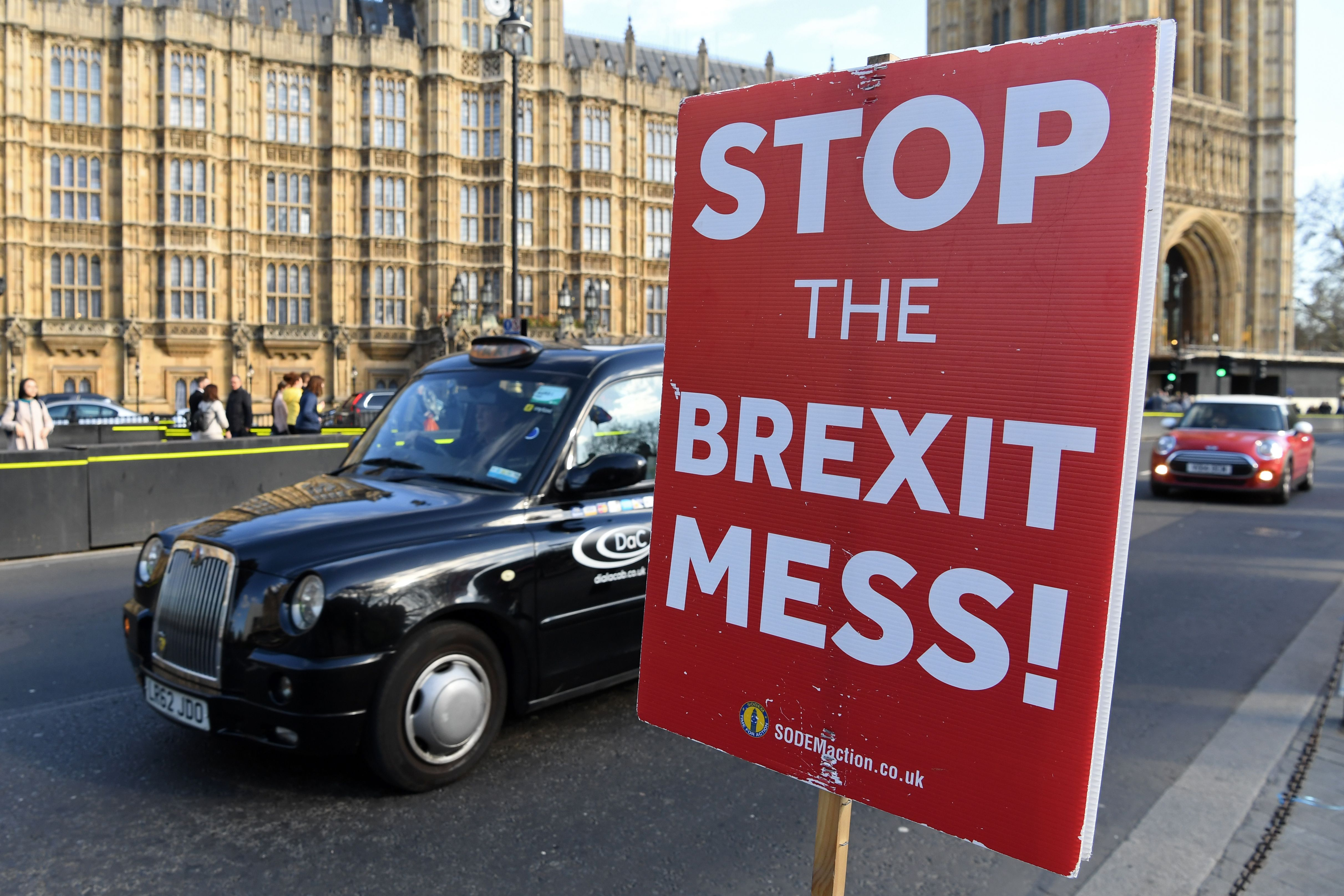 BREXIT BLUES: The ongoing delay in leaving the EU has angered Britain (Pic credit: PAUL ELLIS/AFP/Getty Images)