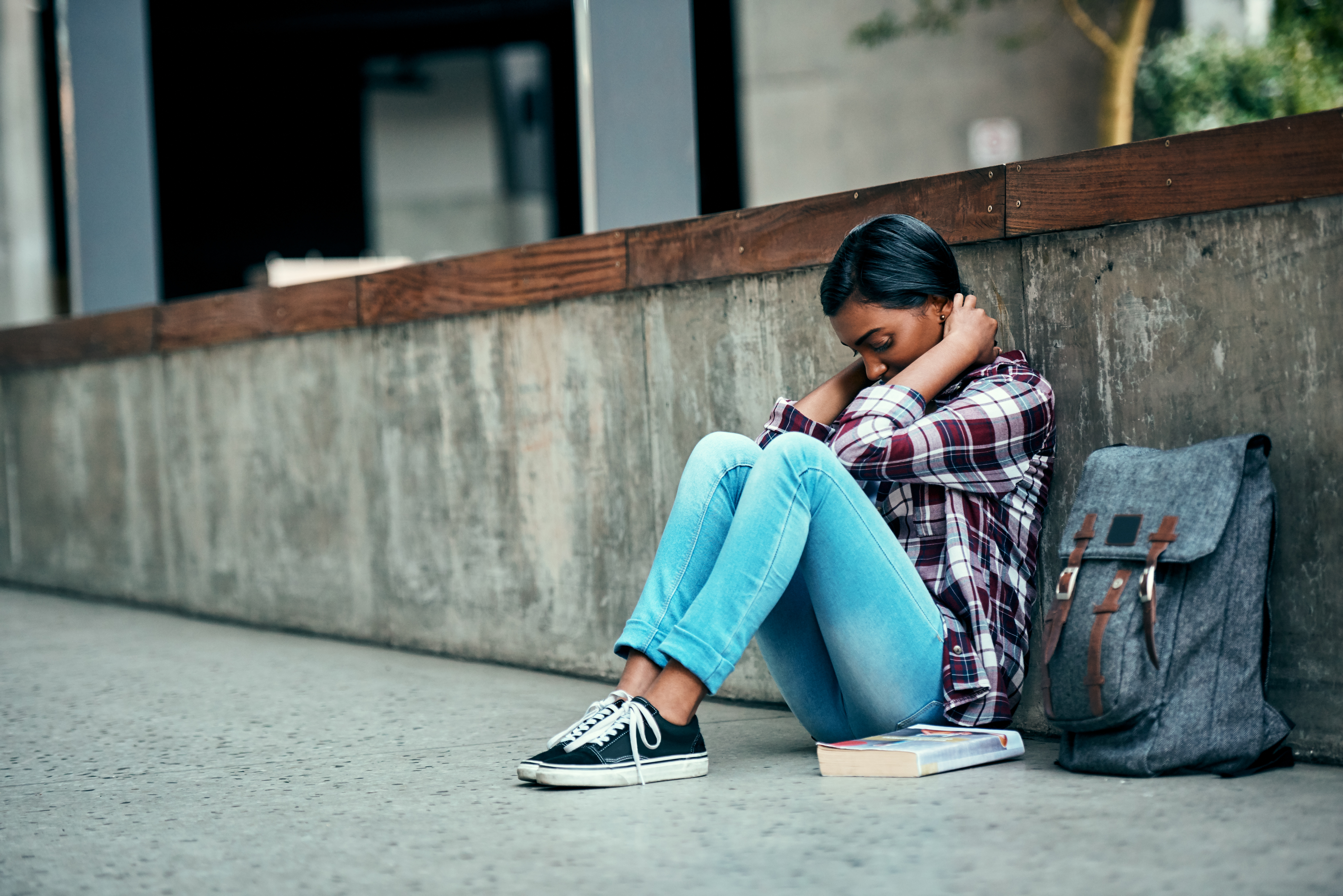 WORRYING TIMES: Students are struggling to cope with the need to achieve higher grades to get into university