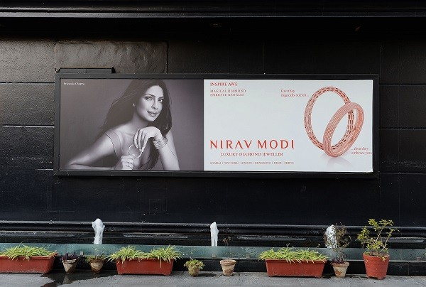 Celebrity jeweller, Modi, 48, is wanted in India for legal proceedings in connection with a £1.5 billion fraud case at the state- run Punjab National Bank (PNB) (Photo: SAJJAD HUSSAIN/AFP/Getty Images).