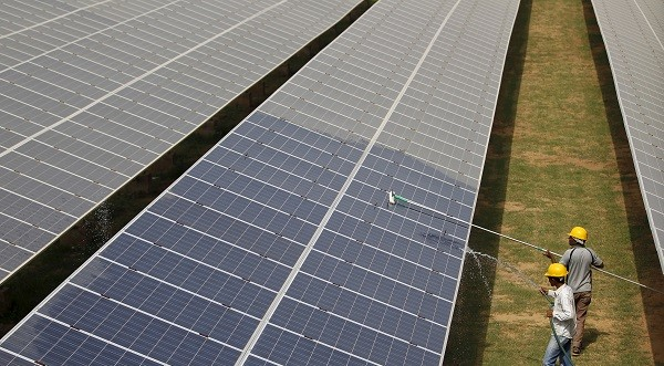 Consultancy firm WoodMac and research firm CRISIL have said India would not meet its renewable energy target due to policy issues, including cancellations of auctions of tenders, rights to land use and tariffs (Photo: REUTERS/Amit Dave/File Photo).