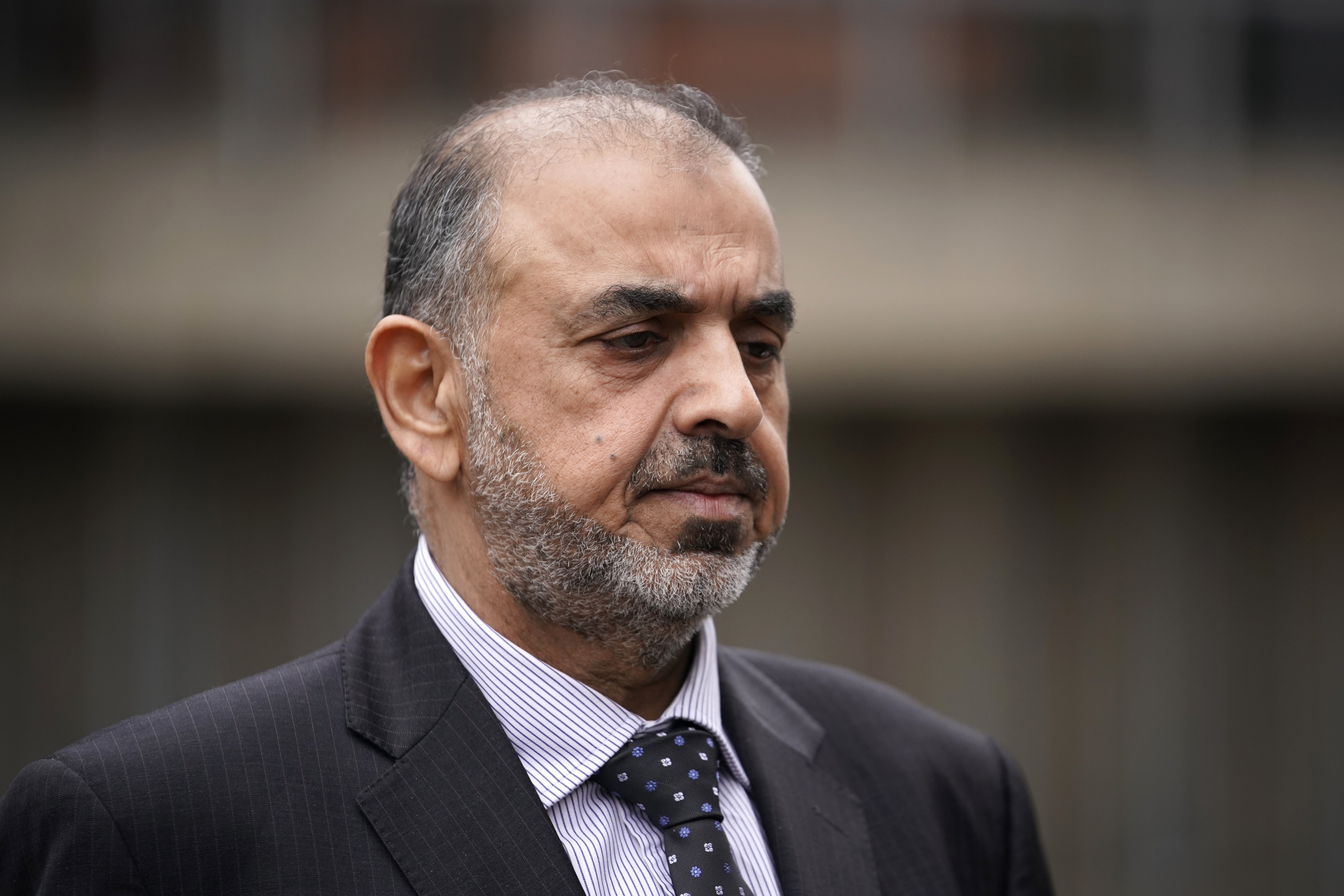 Lord Nazir Ahmed is accused of two counts of attempting to rape a girl and  indecent assault of a boy under 13, alleged to have taken place between 1971 and 1974 (Photo by Christopher Furlong/Getty Images)