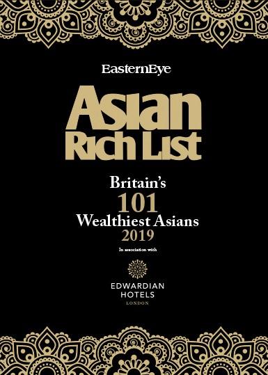 The Asian Rich List