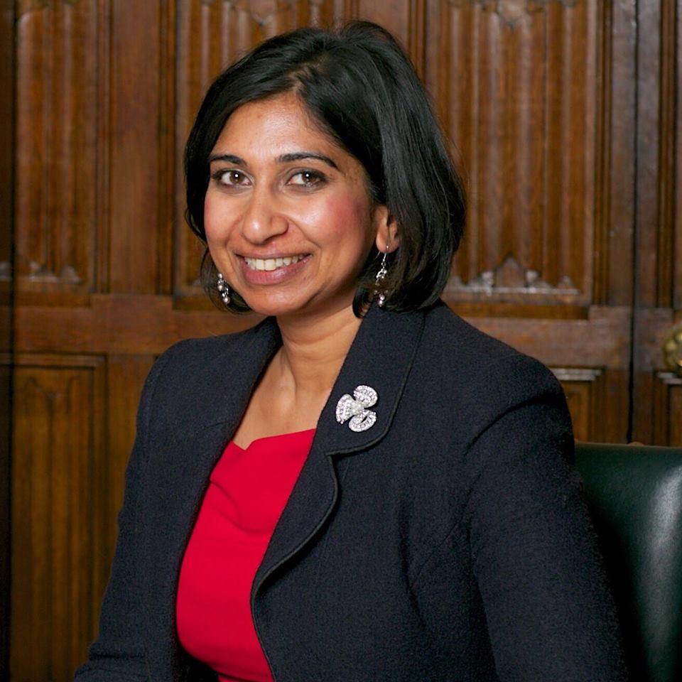 Suella Braverman MP (Photo: Facebook)