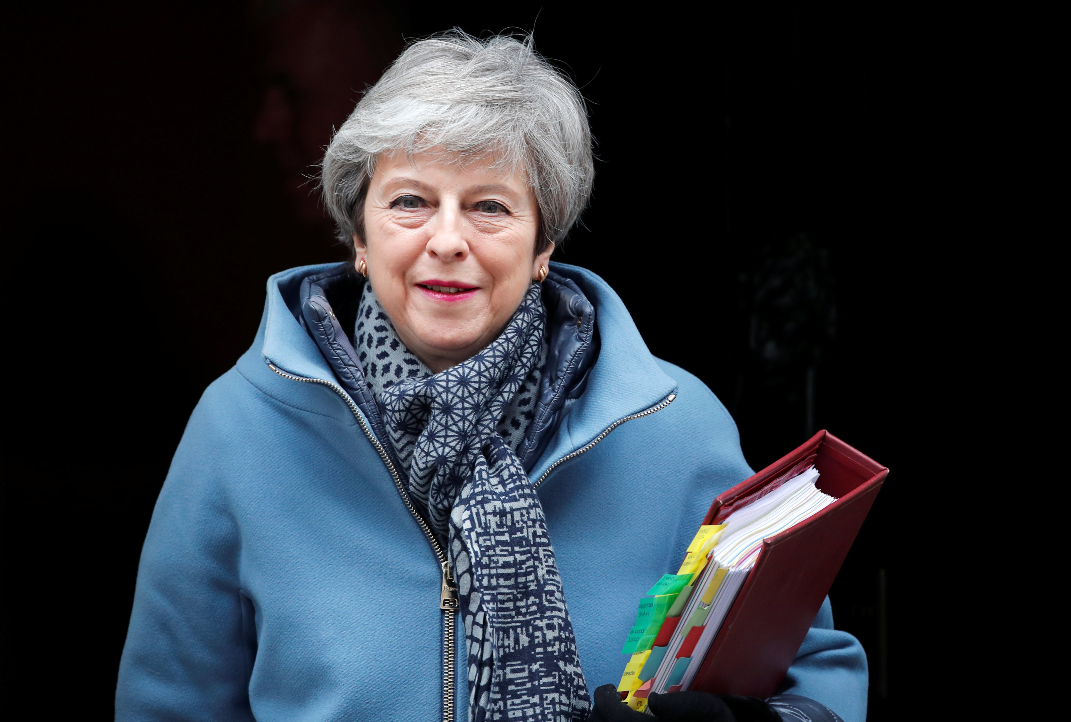 Britain's Prime Minister Theresa May  (Photo: REUTERS/Alkis Konstantinidis)