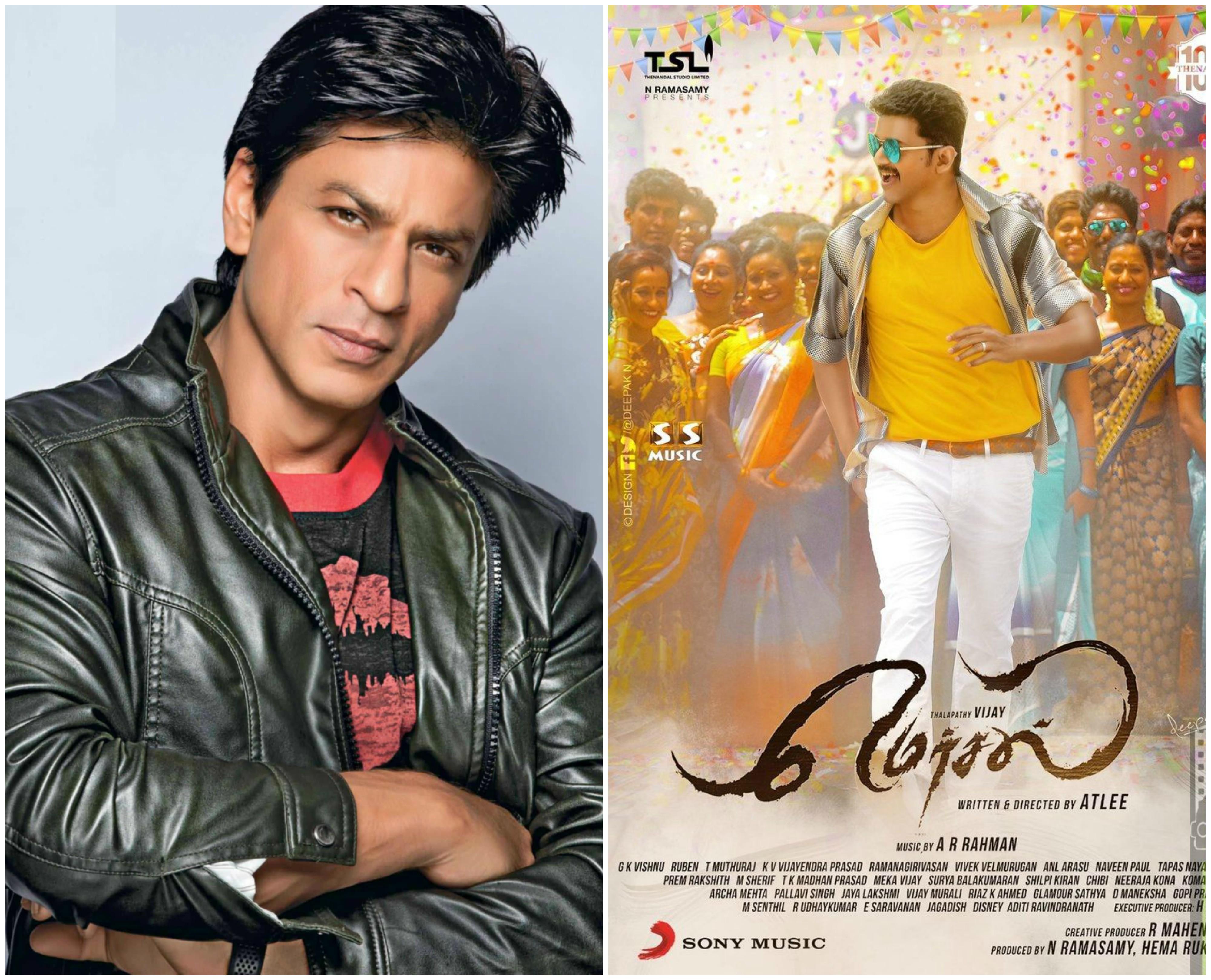 Shah Rukh Khan & Mersal Poster