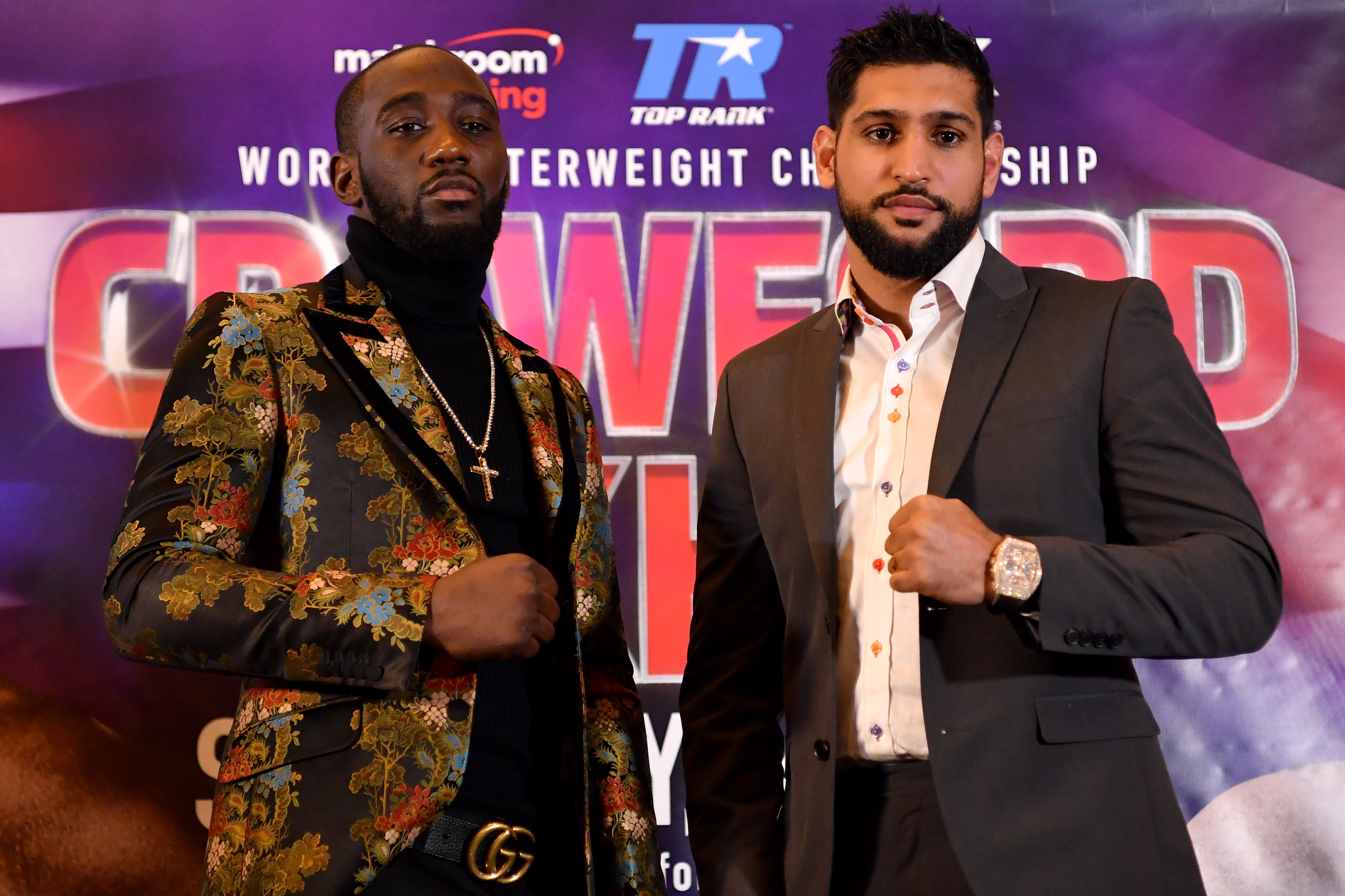 Amir Khan has agreed to face undefeated WBO world welterweight champion Terence Crawford in the United States on 20 April (Pic credit: Justin Setterfield/Getty Images)