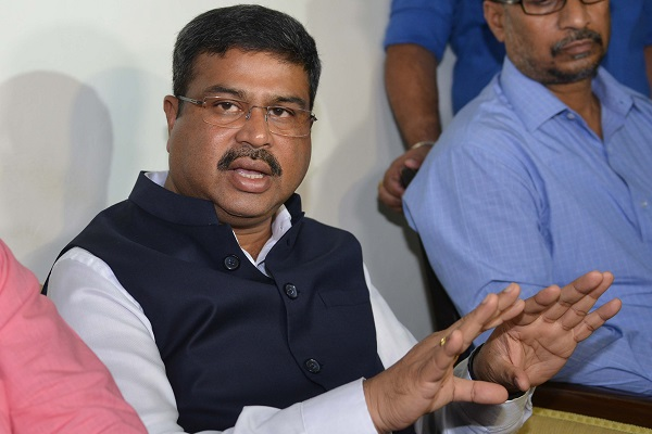 Dharmendra Pradhan said on Twitter that India has put in place a robust plan for adequate supply of crude oil to refineries (Photo: NARINDER NANU/AFP/Getty Images).