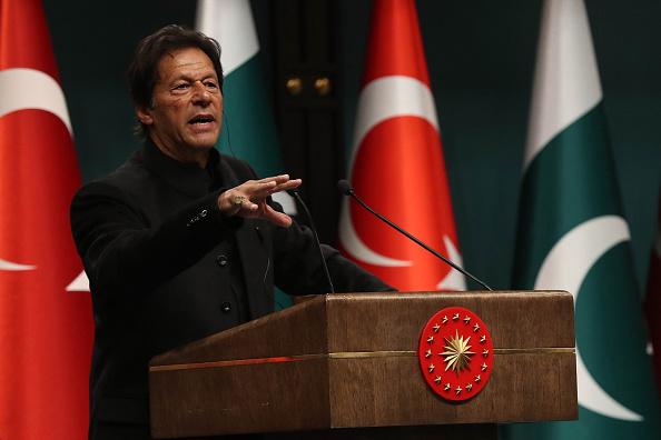 Pakistani prime minister Imran Khan  (Photo: ADEM ALTAN/AFP/Getty Images)