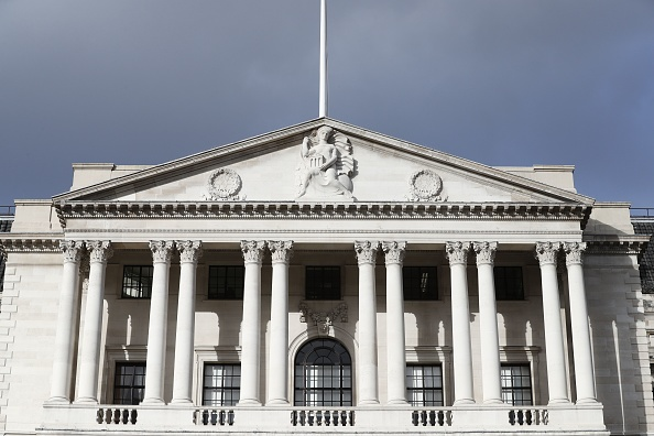 A view of the Bank of England building in central London (Photo: ADRIAN DENNIS/AFP/Getty Images)