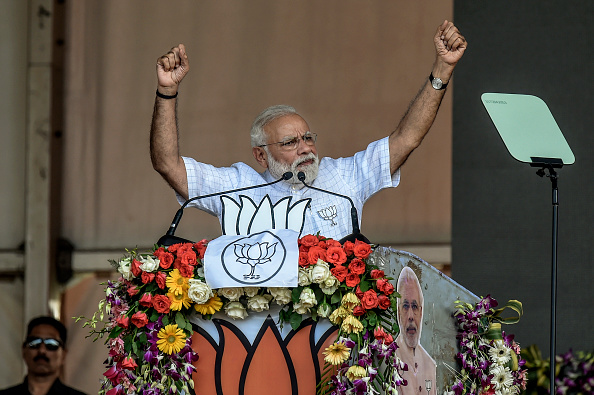 Prime minister Narendra Modi (Photo by Atul Loke/ Getty Images)