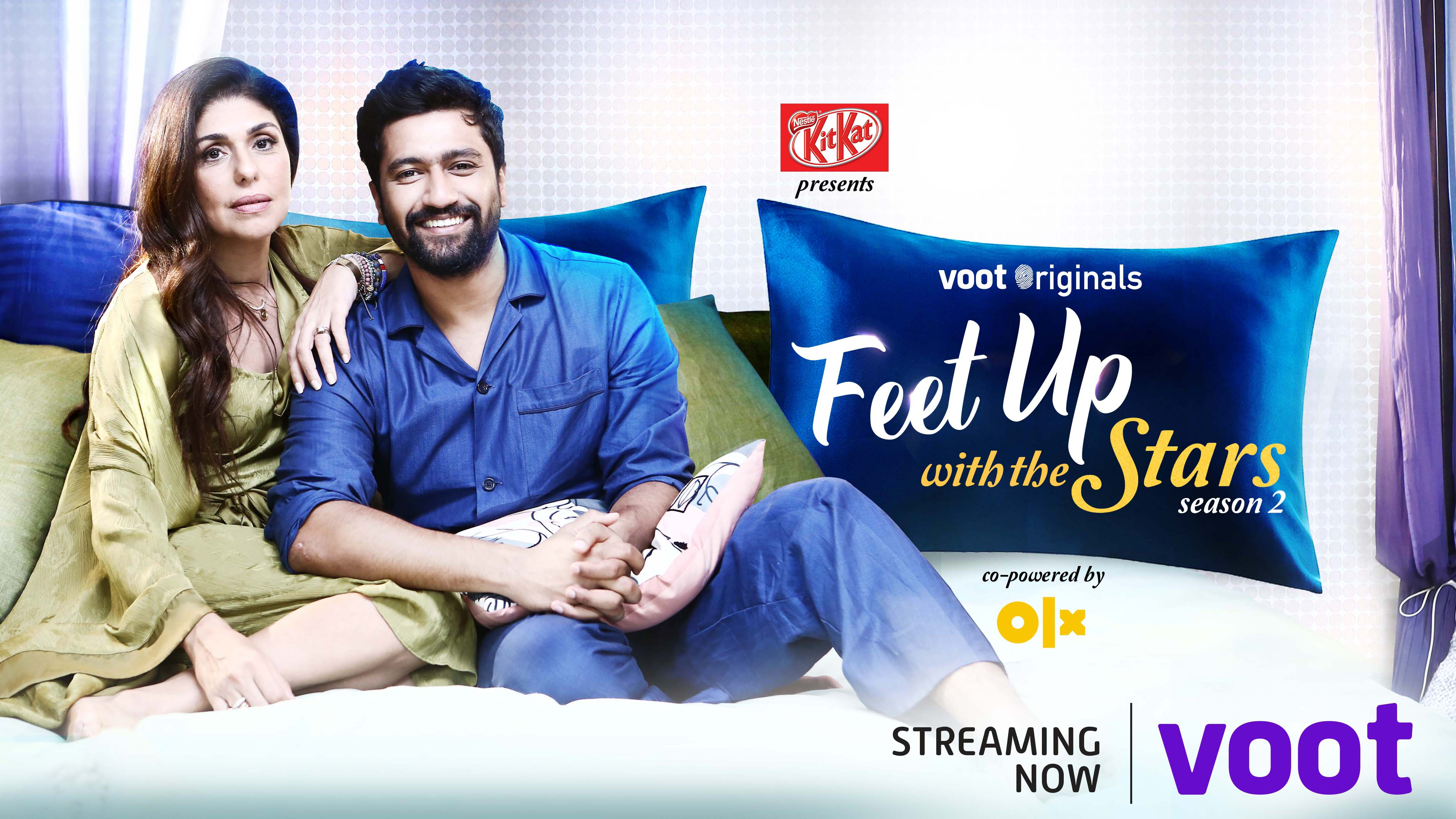 The new Desi app will include VOOT's hit show Feet Up with the Stars