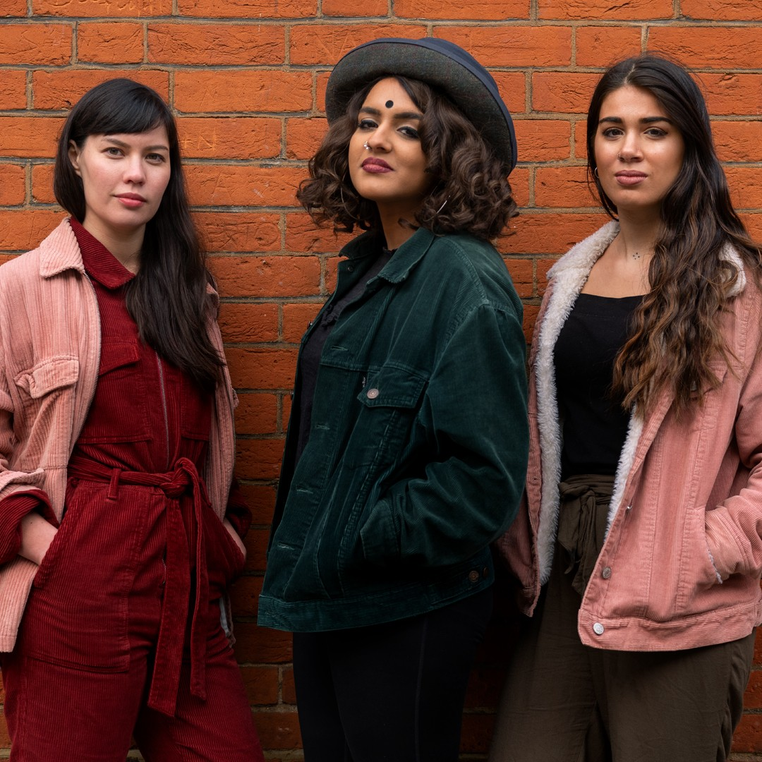 TRIO: Dismantle This Room was created by Nina Segal, Milli Bhatia and Ingrid Marvin (Pic credit: Niall McDiarmid)