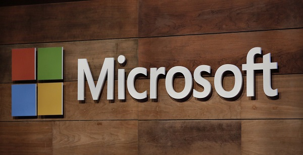 Microsoft's stock has gained about 23 per cent gain so far this year, after hitting a record high of $125.85 during regular trading hours (Photo: JASON REDMOND/AFP/Getty Images).