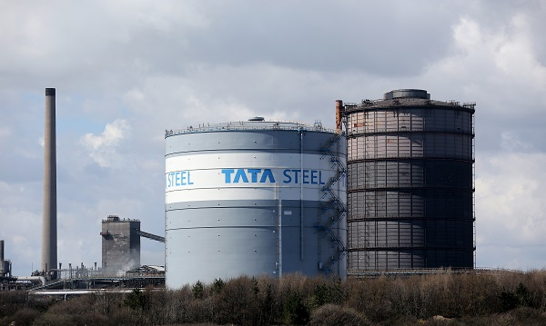 """""""The Port Talbot site has now been re-opened to works traffic and we are assessing any potential damage,"""" the London headquartered steel firm added in a tweet (Photo: Christopher Furlong/Getty Images)."""