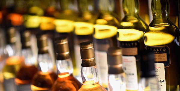 The export ofUKbeverages, which include the British gin and Scotch whisky, climbed £8.3bn in the year to February 2019, increasing by sevenper cent on the previous year (Photo: Jeff J Mitchell/Getty Images).