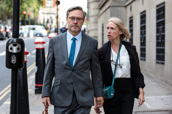 Parents of Jihadi Jack, John Letts and Sally Lane (Photo by Jack Taylor/Getty Images)