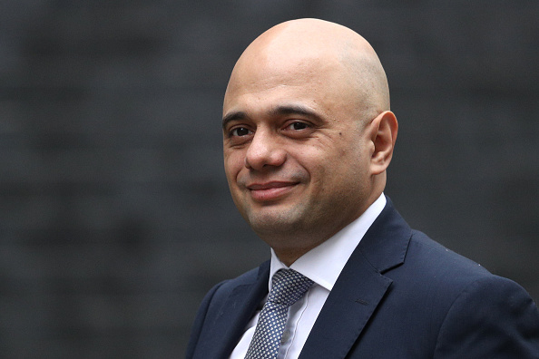 Secretary of State for the Home Department, Sajid Javid. (Photo by Dan Kitwood/Getty Images)