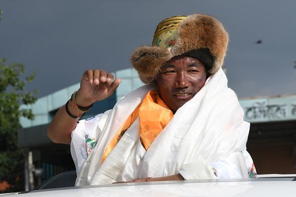 Nepali mountaineer Kami Rita Sherpa (Photo: PRAKASH MATHEMA/AFP/Getty Images)