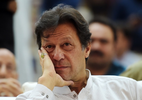 Pakistan prime minister Imran Khan (Photo: AAMIR QURESHI/AFP/Getty Images).