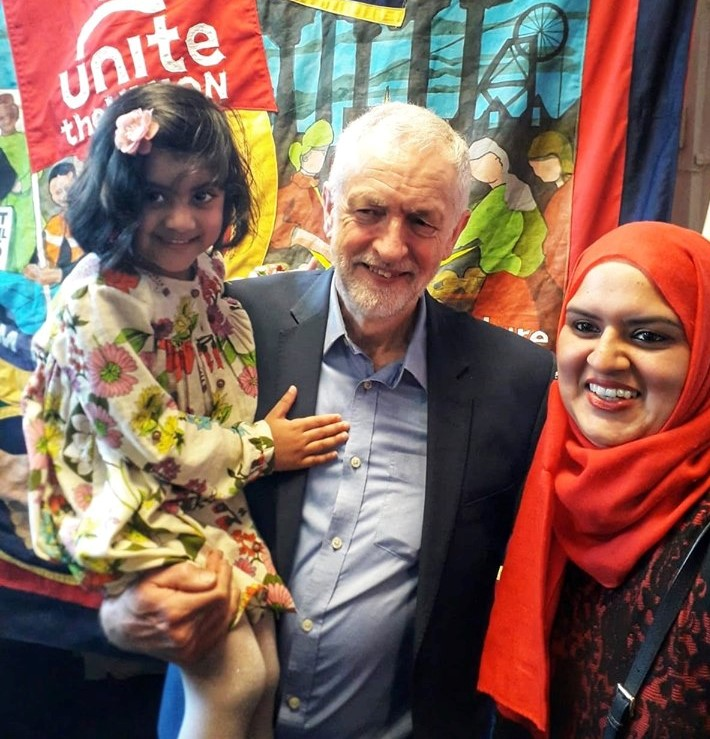 SUPPORT SPEECH: Labour leader Jeremy Corbyn has vowed to challenge Islamophobia and all forms of racism