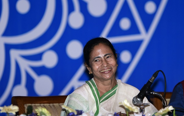 Mamata Banerjee, chief minister of the eastern state of West Bengal, heads the All India Trinamool Congress (AITC) and is a potential candidate for prime minister (Photo: MUNIR UZ ZAMAN/AFP/Getty Images).