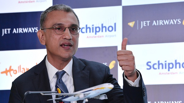 """In a filing to stock exchanges, the airline said Dube """"resigned from the services of the company with immediate effect due to personal reasons"""" (Photo: MANJUNATH KIRAN/AFP/Getty Images)."""