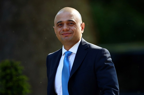 Britain's home secretary Sajid Javid was knocked out of the Tory leadership race earlier today