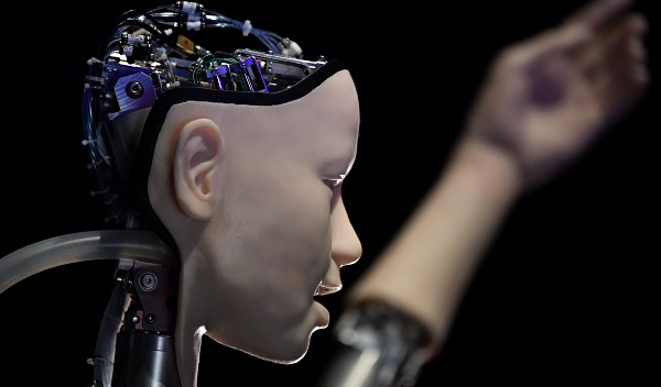 According to the McKinsey Global Institute, AI is expected to provide a 22 per cent boost to the British economy by 2029 (Photo: BEN STANSALL/AFP/Getty Images).