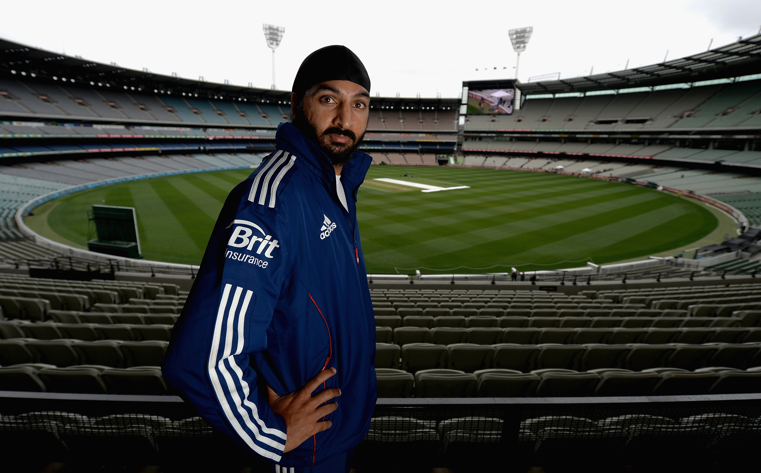 Monty Panesar (Photo by Gareth Copley/Getty Images)