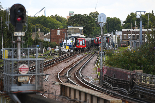 Aslef, the train drivers' union, said just 6.5 per cent of drivers in England, Wales and Scotland were women. (Photo by Chris J Ratcliffe/Getty Images)