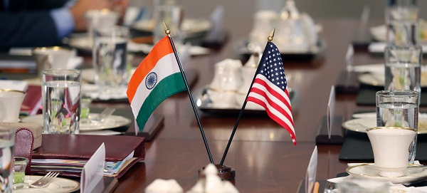 Disputes over trade and protectionist moves have escalated between the two countries in recent months, but defence ties remain strong with Washington seeking to build Indian capabilities as a counterweight to China (Photo: ROBERTO SCHMIDT/AFP/Getty Images).